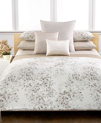 Calvin Klein Wellfleet Comforter And Duvet Cover Collection   Bedding  Collections   Bed U0026 Bath   Macyu0027s