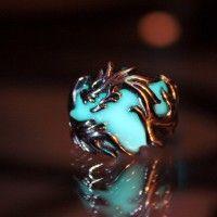 Glow-In-The-Dark Dragon Jewelry 9