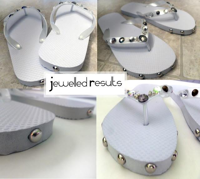 FASHION TALES: DIY: Sandal Embellishments
