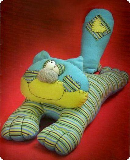 stuffed cat ;)