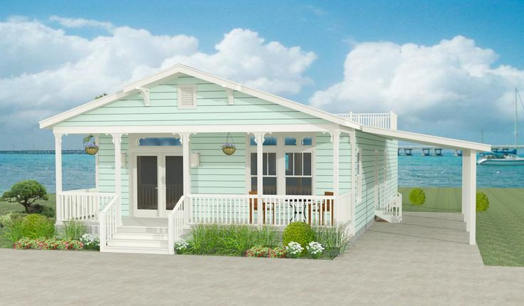 25 best ideas about mobile home exteriors on pinterest for Prefab homes under 1000 sq ft