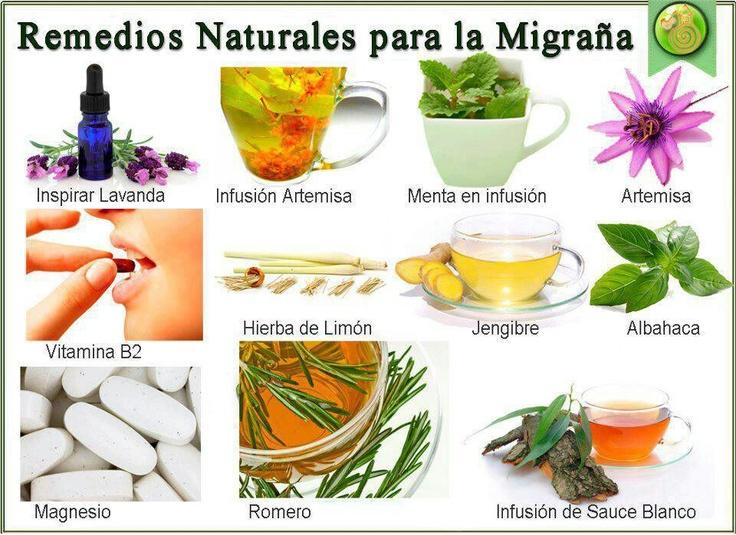 Remedios naturales para la migraña  http://mejoresremediosnaturales.blogspot.com/