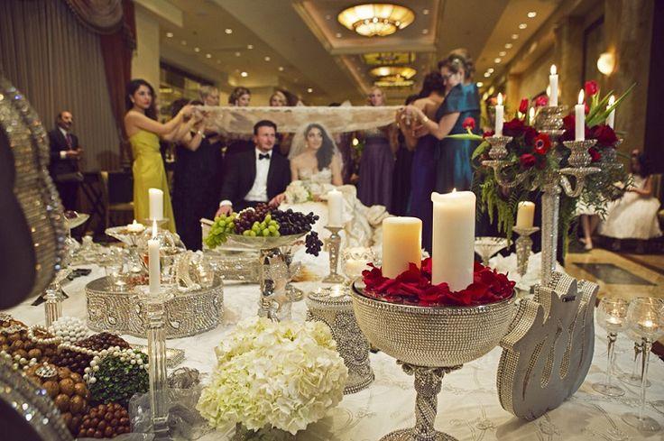 Persian wedding parisian stylepersian wedding taglyan for Persian wedding ceremony table