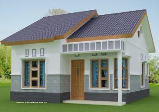 Ini Desain Rumah Minimalis Dengan Biaya 50 Juta , Cocok Untuk Pasangan Baru Menikah