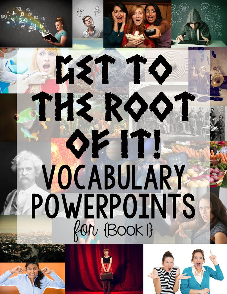 Greek and Latin root word PowerPoints!  20 presentations that cover over 60 Greek/Latin roots and 200 words.