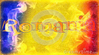 Romanian Flag Banner In Flames - Download From Over 49 Million High Quality Stock Photos, Images, Vectors. Sign up for FREE today. Image: 78436530