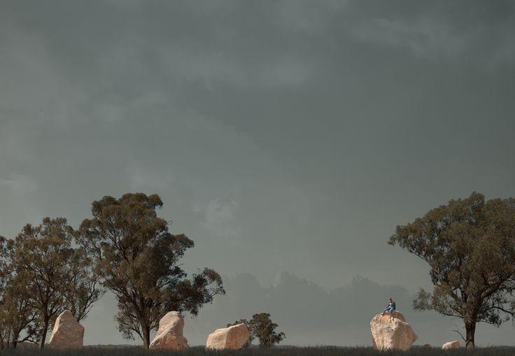 Lindsay Blamey - Rock Field