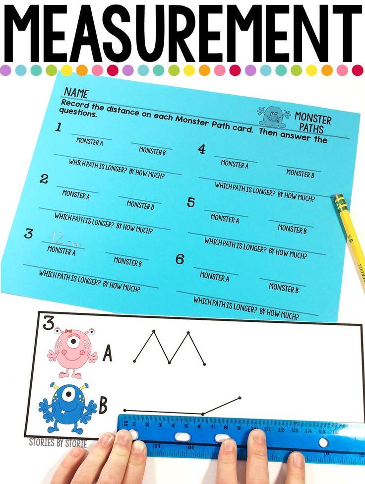 Measurement Activities Worksheets 2 Md Classroom