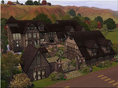 My Sims 3 Blog: Family farm for two horses by Visty6