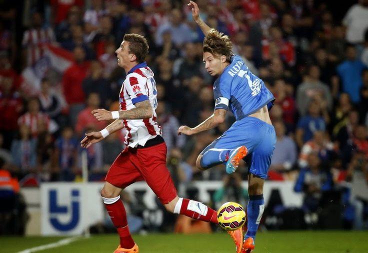 Mandzukic Bawa Atletico Unggul di Babak Pertama | AlbarruNews