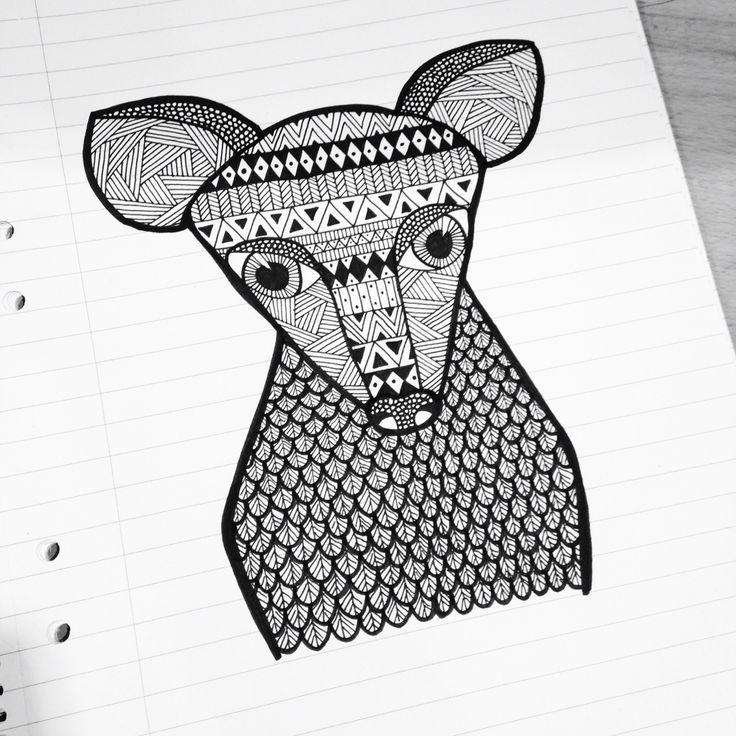 Creature unknown Finelinerart