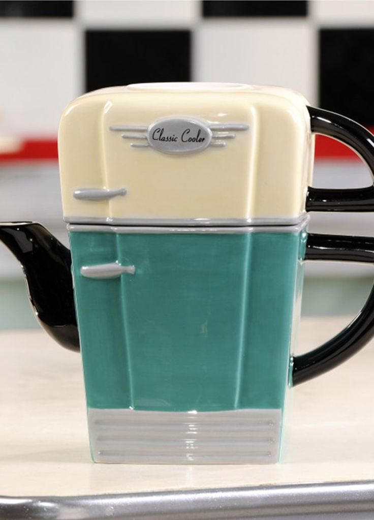 Outlet: Living Essentials - Tea For One Fridge  to cute