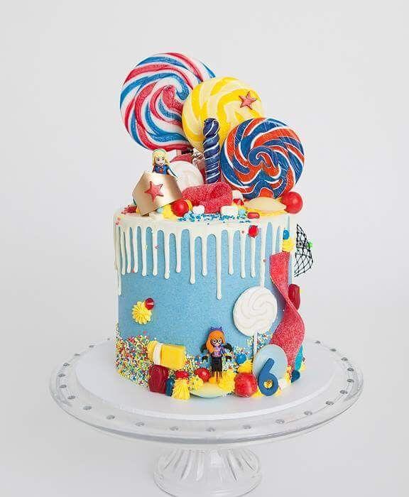 D.C. Girls Super Hero Cake