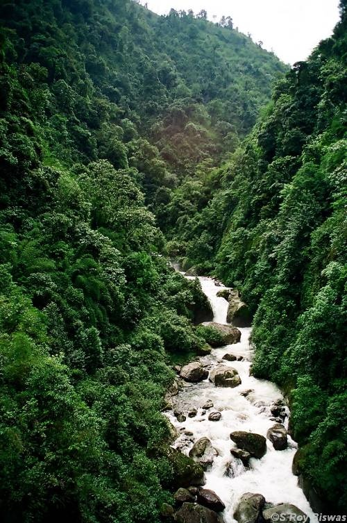 Sikkim: possibly Indya's cleanest state, with the most honest people.