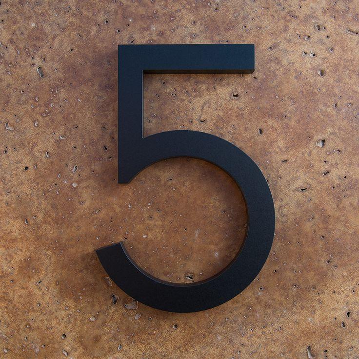 les 25 meilleures id es de la cat gorie num ros de maison moderne sur pinterest num ros de. Black Bedroom Furniture Sets. Home Design Ideas