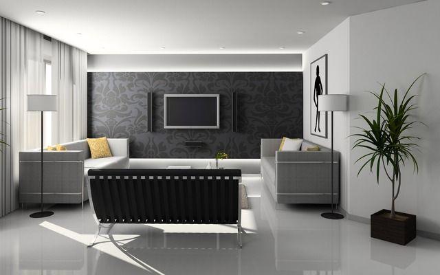 Room, Living, Modern, Paper, Design, Beautiful, Gallery