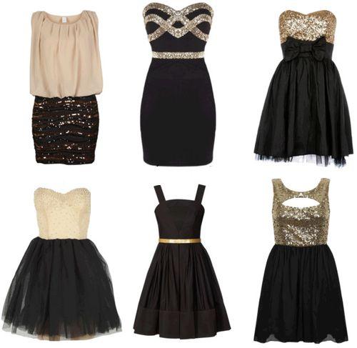 Algunos vestidos De noche