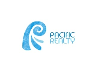 """""""Pacific Realty"""" Logo"""