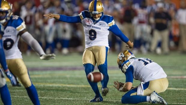 Nov.4 2016 - Justin Medlock kicked four field goals to set a single-season record Friday as the Winnipeg Blue Bombers closed out the regular season with a 33-20 win over the Ottawa Redblacks. The Redblacks (8-9-1) also made some history, becoming the first team in CFL history to win a division while posting a losing record. The Blue Bombers finished the regular season 11-7.Justin Medlock, BlueBombers.com