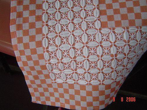 xadrez | detalhe da toalha | Marinez Couto | Flickr