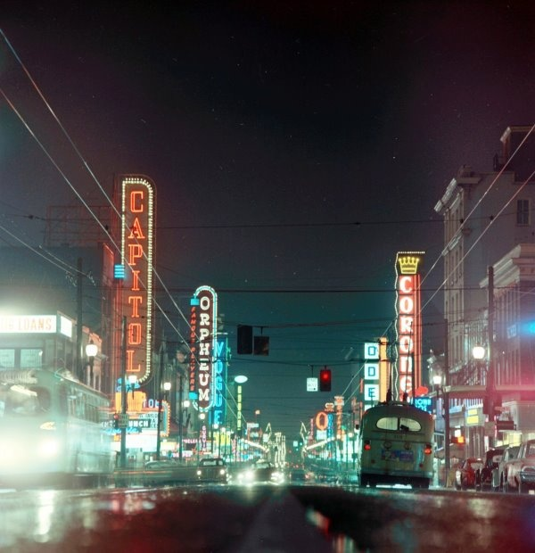 Granville Street, Vancouver 1960's