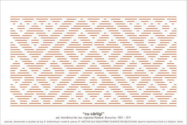 Semne Cusute: MOTIVE: cu carligi (P27, M6)
