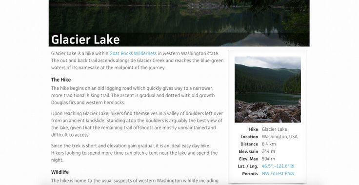 hike.io_Glacier Lake