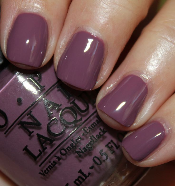 OPI I'm Feeling Sashy. Because I always forget what colors look good on me when…