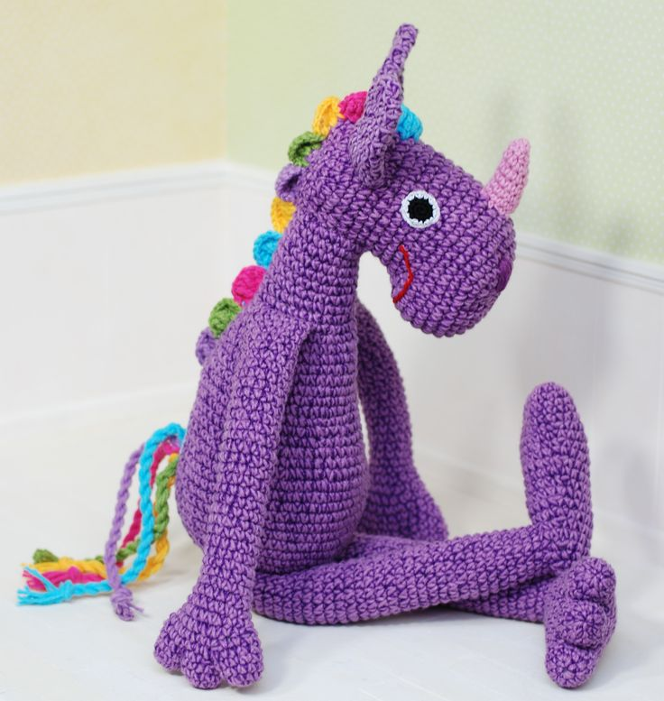 Purple crotchet unicorn  https://www.etsy.com/listing/574721808/unicorn-violet-purple-colorful-amigurumi?ref=shop_home_active_1