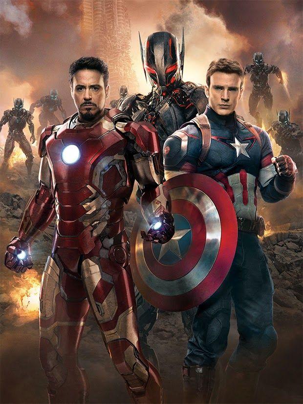 Os Vingadores 2: A Era de Ultron. #Marvel
