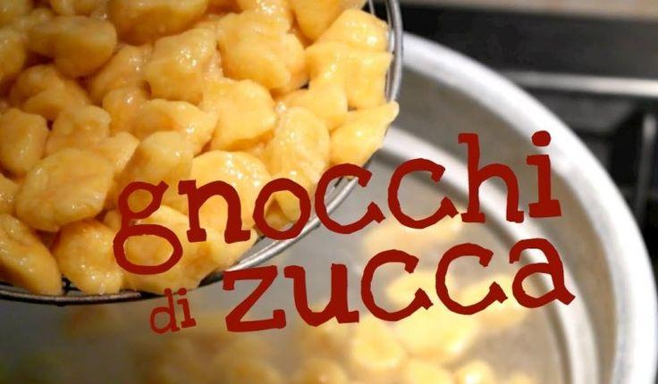 GNOCCHI DI ZUCCA FATTI IN CASA DA BENEDETTA – Homemade Pumpkin Gnocchi recipe