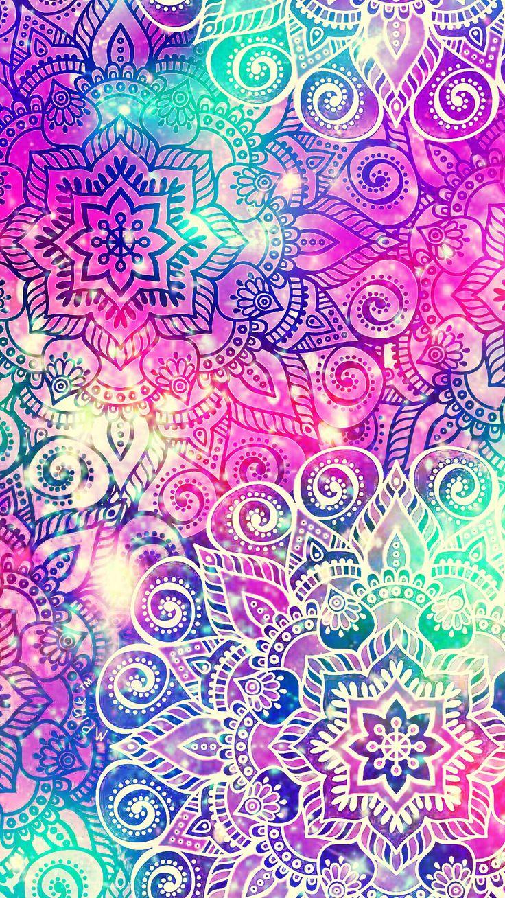 Paisley Galaxy Wallpaper