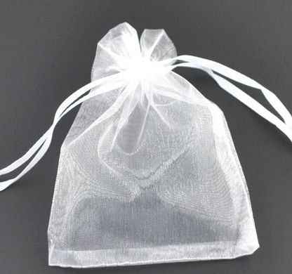 100 pcs 10x12cm3.9x4.75 White Organza by GoodChoiceSupplies