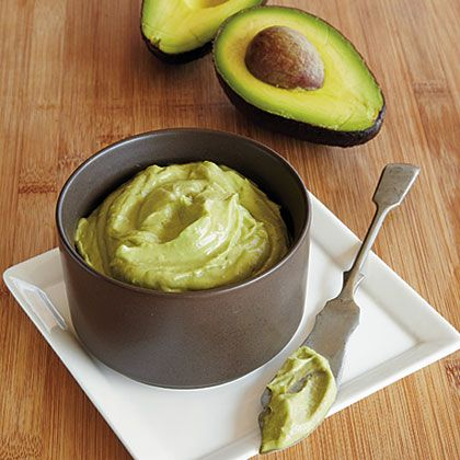 Such an easy twist on guacamole, this creamy condiment is my secret weapon on fish tacos and in burritos.