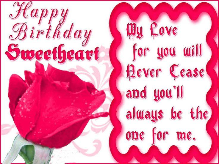 The 25 best Girlfriend birthday wishes ideas – Birthday Card for Girlfriend