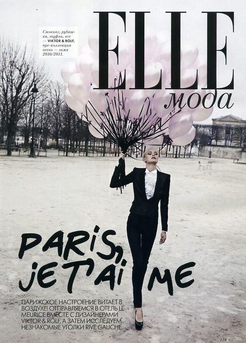 I like the use of black on this front cover i feel it makes it stand out,i also like the use of the types the standard 'elle' type works well withe the graffiti style type