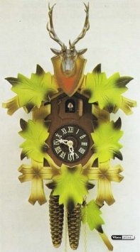Amazon.com: German Cuckoo Clock 1-day-movement Carved-Style 13 inch - Authentic black forest cuckoo clock by Hekas: Home & KitchenBlack Forests, Clocks 1 Day Mov, Carvedstyl 13, 1Daymov Carvedstyl, Clocks 1Daymov, Authentic Black, Forests Cuckoo, Cuckoo Clocks, Clocks Carvings