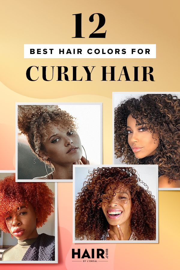 12 Best Hair Colors For Curly Hair Colored Curly Hair Loreal Hair Color Curly Hair Styles