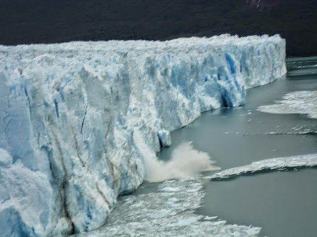 Glaciar Perito Moreno en Argentina.