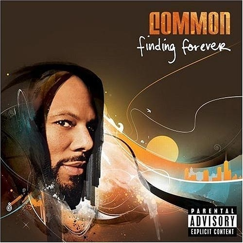 """Common - """"Finding Forever"""".    Common obviously took his Windows stock desktop image and superimposed his face on it."""
