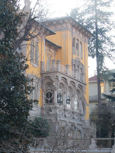 Stile Liberty-Villa Scott-Corso G. Lanza, 57-Torino
