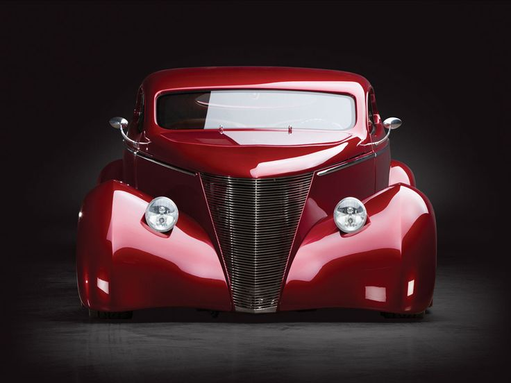 1937 Ford Coupe Oze Custom