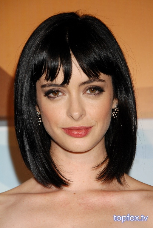 Krysten Ritter-- love her hair!