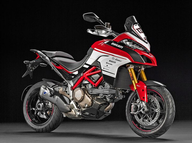 Ducati Announces Limited-Edition Multistrada 1200 Pikes Peak 100th Anniversary Replica Kit