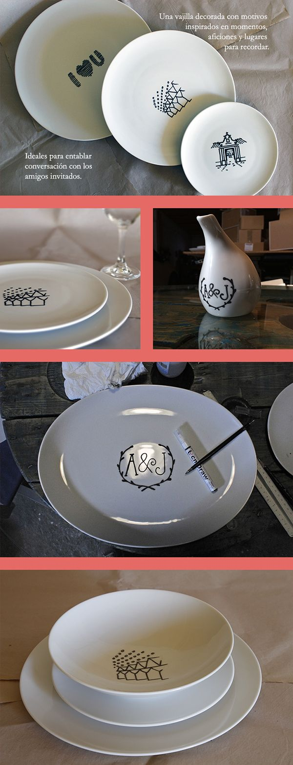 Crockery Set Made with Stories on Behance