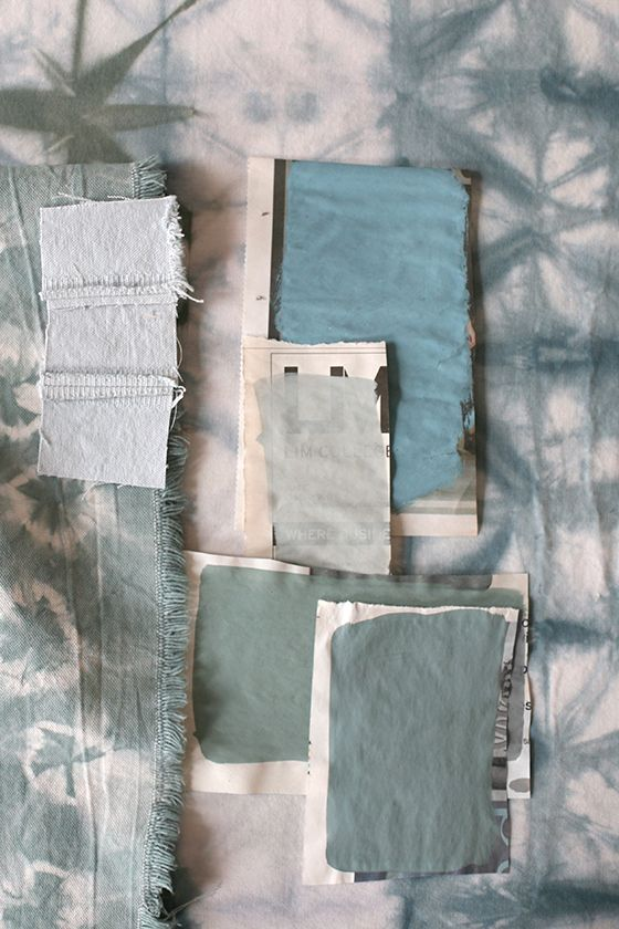 Sea Green Color Study by Rebecca Atwood
