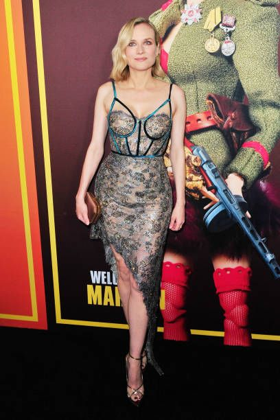 80bec18e7f2 Diane Kruger arrives at Universal Pictures and DreamWorks Pictures   Premiere of  Welcome To Marwen