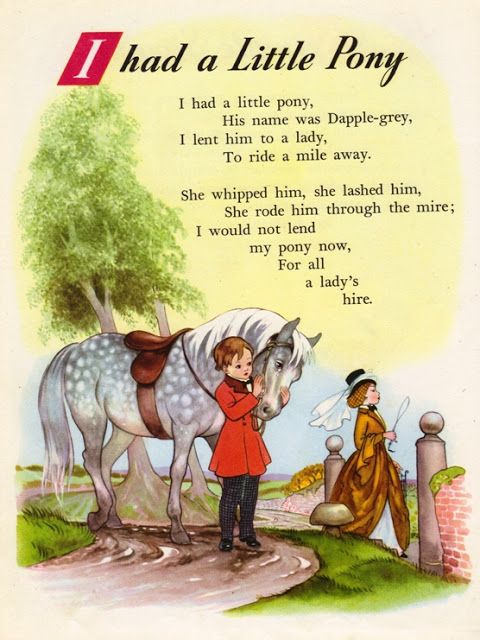 Nursery Rhyme Land illustrated by Hilda Boswell