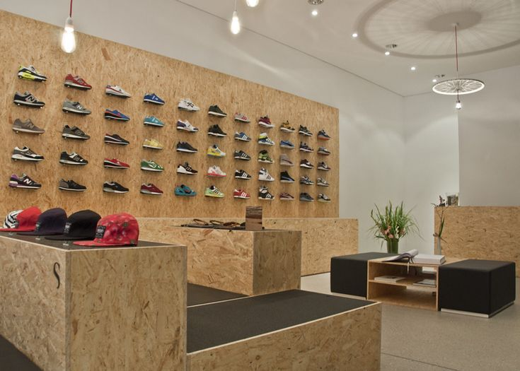 SUPPA Sneaker Boutique by Daniele Luciano Ferrazzano  http://www.dezeen.com/2012/08/11/suppa-sneaker-boutique-by-daniele-luciano-ferrazzano/
