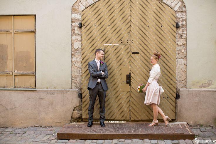 Teele and Kristen's 'Elopement Style' Wedding in Tallinn, Estonia
